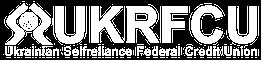 UKRFCU White logo with tagline